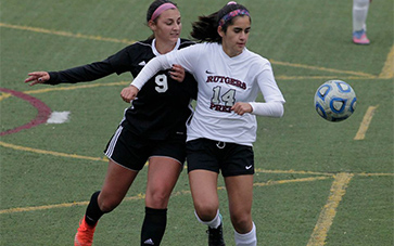 Girls Soccer moves on defeating Our Lady of Mercy  in South Jersey, Non-Public B semifinal 2-0